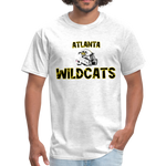 ATLANTA WILDCATS UNISEX TEE - light heather gray