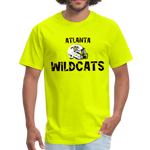 ATLANTA WILDCATS UNISEX TEE - safety green