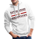 BATON ROUGE REDSTICKS MEN'S PREMIUM HOODIE - white