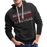 BATON ROUGE REDSTICKS MEN'S PREMIUM HOODIE - black
