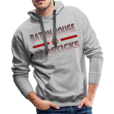 BATON ROUGE REDSTICKS MEN'S PREMIUM HOODIE - heather gray