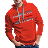 BATON ROUGE REDSTICKS MEN'S PREMIUM HOODIE - red