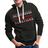 BATON ROUGE REDSTICKS MEN'S PREMIUM HOODIE - charcoal gray