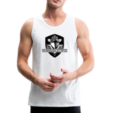 VIRGINIA BEACH DESTROYERS MEN'S PREMIUM TANK - white
