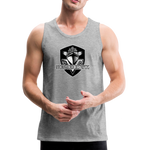 VIRGINIA BEACH DESTROYERS MEN'S PREMIUM TANK - heather gray