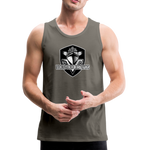 VIRGINIA BEACH DESTROYERS MEN'S PREMIUM TANK - asphalt gray
