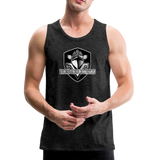 VIRGINIA BEACH DESTROYERS MEN'S PREMIUM TANK - charcoal gray