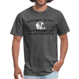 VIRGINIA BEACH DESTROYERS UNISEX TEE - heather black