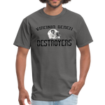 VIRGINIA BEACH DESTROYERS UNISEX TEE - charcoal