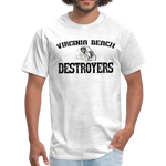 VIRGINIA BEACH DESTROYERS UNISEX TEE - light heather gray