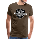 VIRGINIA BEACH DESTROYERS MEN'S PREMIUM TEE - noble brown