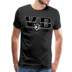 VIRGINIA BEACH DESTROYERS SPECIALITY MEN'S PREMIUM TEE - black