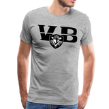VIRGINIA BEACH DESTROYERS SPECIALITY MEN'S PREMIUM TEE - heather gray