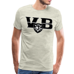 VIRGINIA BEACH DESTROYERS SPECIALITY MEN'S PREMIUM TEE - heather oatmeal
