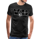 VIRGINIA BEACH DESTROYERS SPECIALITY MEN'S PREMIUM TEE - charcoal gray