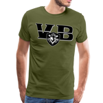 VIRGINIA BEACH DESTROYERS SPECIALITY MEN'S PREMIUM TEE - olive green
