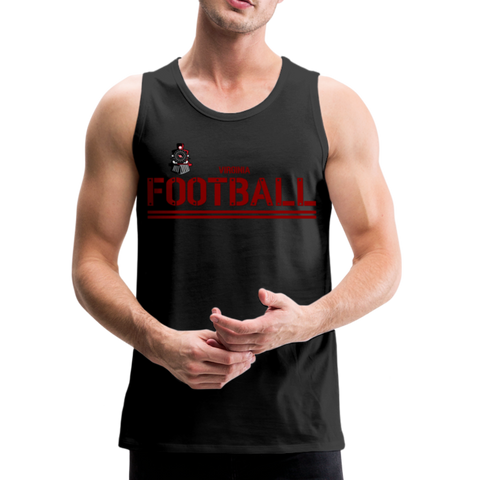 VIRGINIA IRON HORSES MEN'S PREMIUM TANK - black