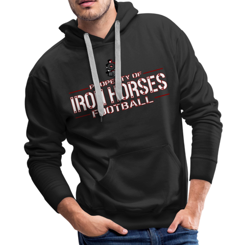 VIRGINIA IRON HORSES MEN'S PREMIUM HOODIE - black