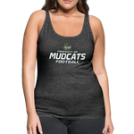 MISSISSIPPI MUDCATS WOMEN'S PREMIUM TANK - charcoal gray