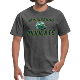 MISSISSIPPI MUDCATS UNISEX TEE - heather black