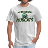 MISSISSIPPI MUDCATS UNISEX TEE - heather gray
