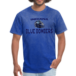 INDIANA BLUE BOMBERS UNISEX TEE - mineral royal