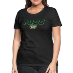 MISSISSIPPI MUDCATS SPECIALITY WOMEN'S PREMIUM TEE - black