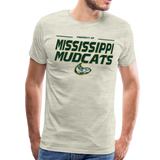 MISSISSIPPI MUDCATS MEN'S PREMIUM TEE - heather oatmeal