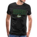 MISSISSIPPI MUDCATS MEN'S PREMIUM TEE - charcoal gray