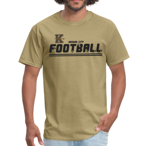 KANSAS CITY KAPITALS UNISEX TEE - khaki