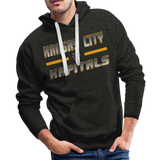 KANSAS CITY KAPITALS MEN'S PREMIUM HOODIE - charcoal gray