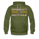 KANSAS CITY KAPITALS MEN'S PREMIUM HOODIE - olive green