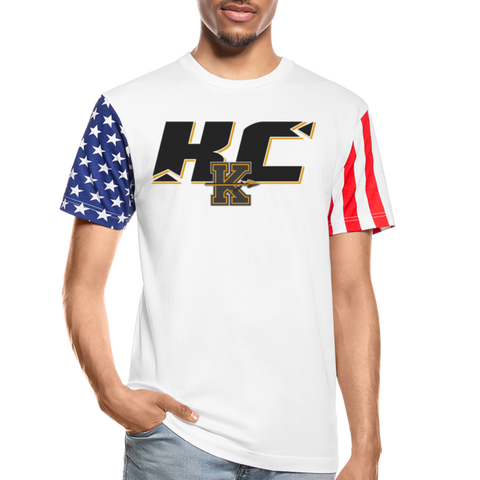 KANSAS CITY KAPITALS SPECIALITY STARS & STRIPES TEE - white
