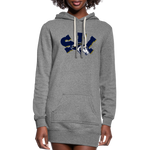 ST LOUIS STAMPEDE SPECIALTY WOMEN'S HOODIE DRESS - heather gray