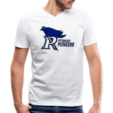 PITTSBURGH PIONEERS MEN'S V-NECK TEE - white