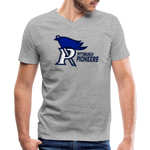 PITTSBURGH PIONEERS MEN'S V-NECK TEE - heather gray