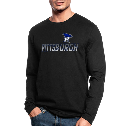 PITTSBURGH PIONEERS MEN'S LONG SLEEVE TEE - black
