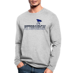 PITTSBURGH PIONEERS MEN'S LONG SLEEVE TEE - heather gray