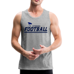 PITTSBURGH PIONEERS MEN'S PREMIUM TANK - heather gray