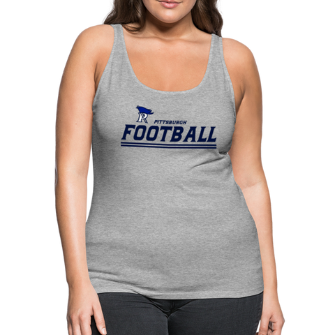 PITTSBURGH PIONEERS WOMEN'S PREMIUM TANK - heather gray