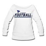 PITTSBURGH PIONEERS WOMEN'S WIDENECK SWEATSHIRT - white