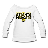 ATLANTA WILDCATS WOMEN'S WIDENECK SWEATSHIRT - white