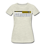 ST LOUIS STAMPEDE WOMEN'S PREMIUM TEE - heather oatmeal