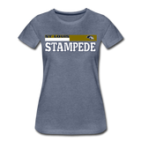 ST LOUIS STAMPEDE WOMEN'S PREMIUM TEE - heather blue