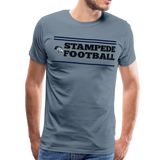 ST LOUIS STAMPEDE MEN'S PREMIUM TEE - steel blue