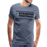 ST LOUIS STAMPEDE MEN'S PREMIUM TEE - heather blue