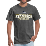 ST LOUIS STAMPEDE UNISEX TEE - heather black