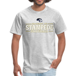 ST LOUIS STAMPEDE UNISEX TEE - heather gray