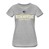 ST LOUIS STAMPEDE WOMEN'S PREMIUM TEE - heather gray
