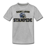 ST LOUIS STAMPEDE KID'S PREMIUM TEE - heather gray